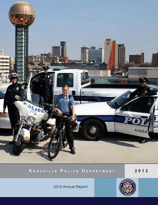 Knoxville Police Department 2012 Annual Report