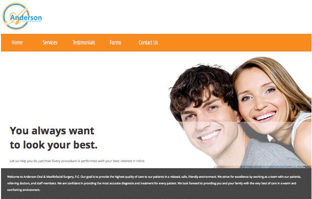 Anderson Oral Surgery Website