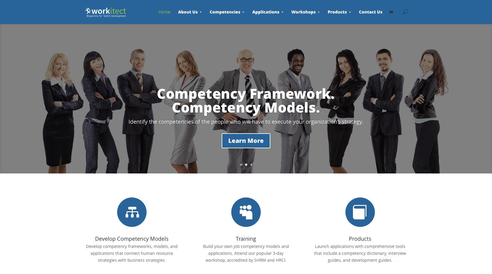 Workitect Website