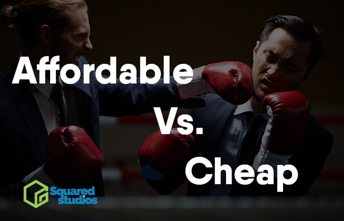 Affordable Web Design Vs Cheap Web Design