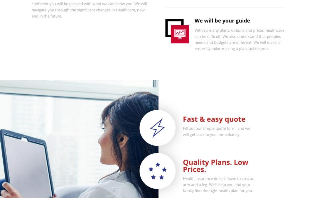 American Medical Plans Website Development