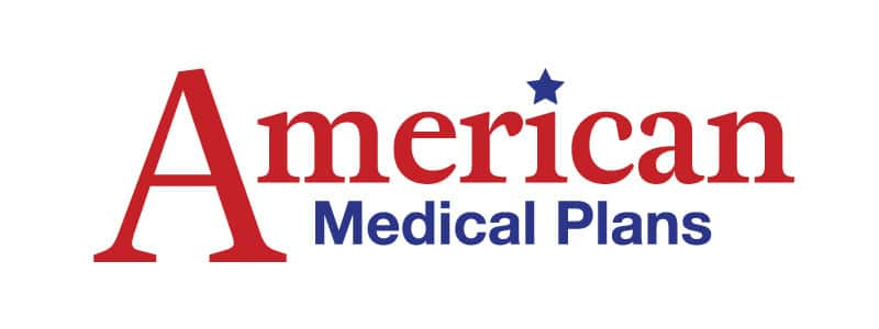 American medical plans logo design