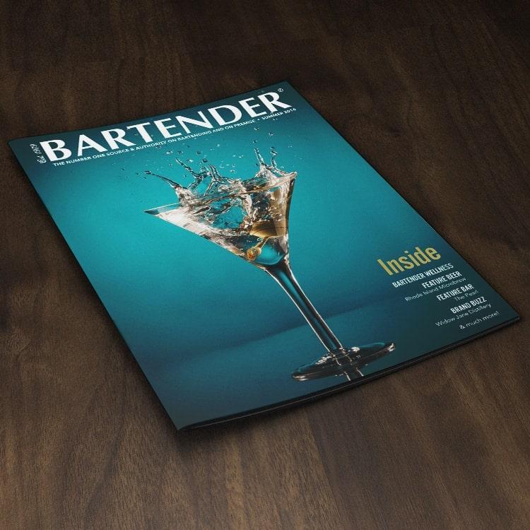 Bartender Magazine: Creative Direction