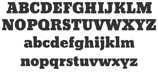 Bevan - One of the best headline fonts