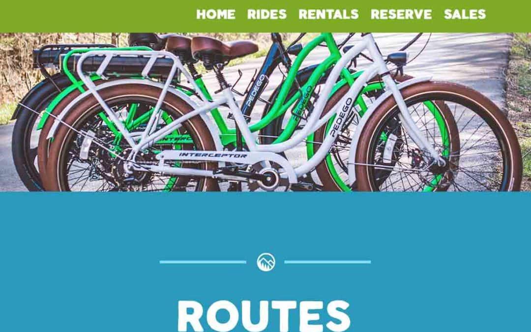 Bike The Smokies Website Design