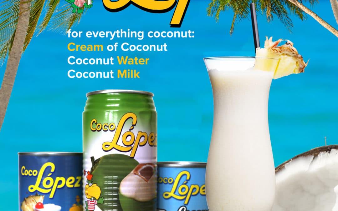 Coco Lopez Magazine Ad