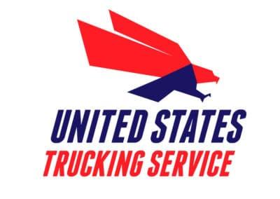 United States Trucking Service Logo