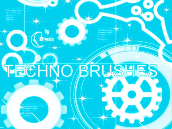 free-photoshop-brushes-techno