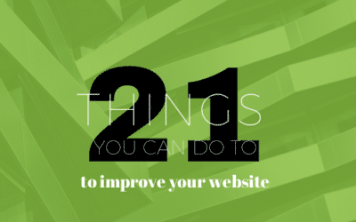 21 Ways to Improve Your Website & Make it More Successful