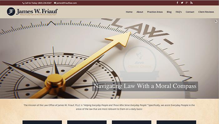 james-friauf-law-website