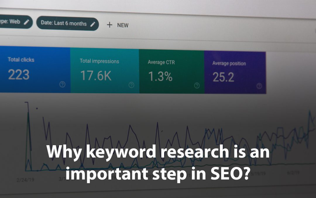 Why keyword research is an important step in SEO?