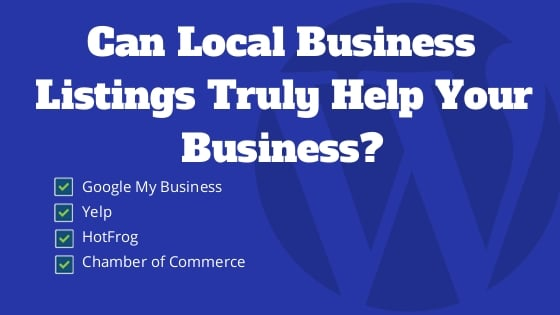 Can Local Business Listings Truly Help Bring in More Business?