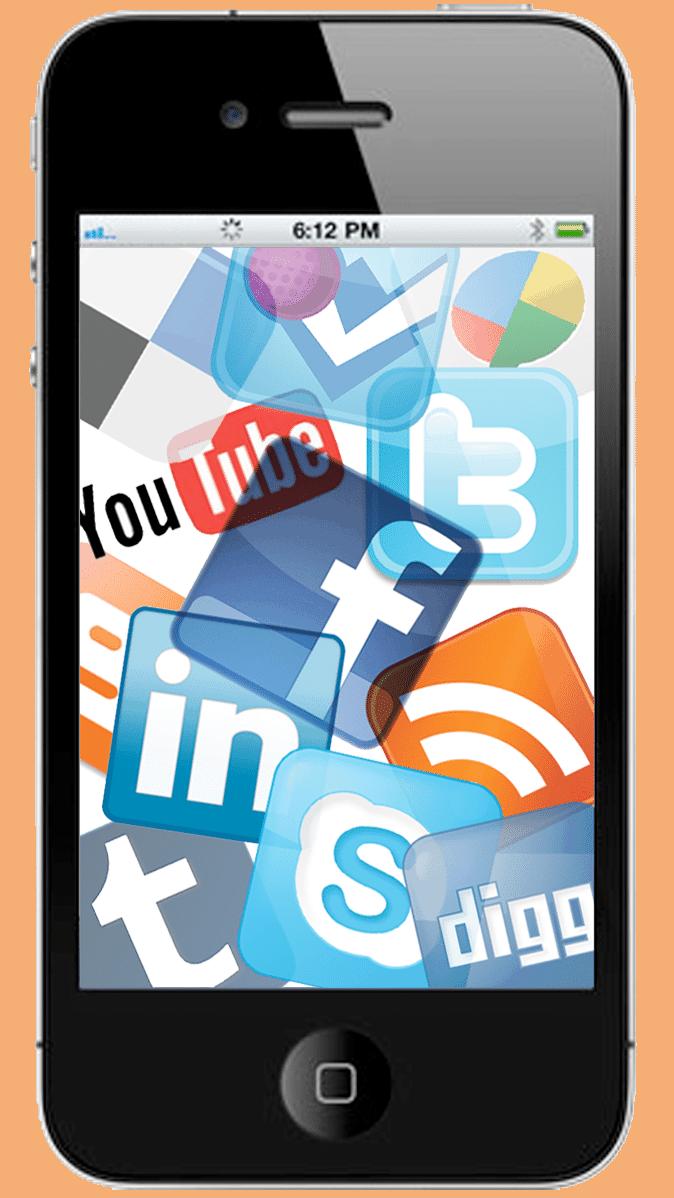 mobile-social-media