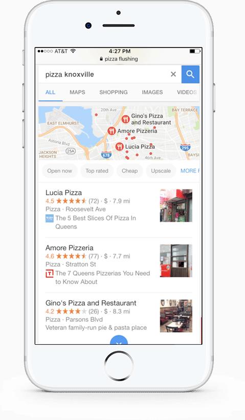 phone updated google my business