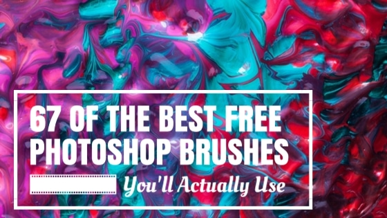 67 of the Best Free Photoshop Brushes You'll Actually Use