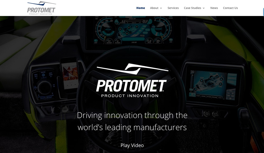 Protomet web design project- Oak Ridge TN
