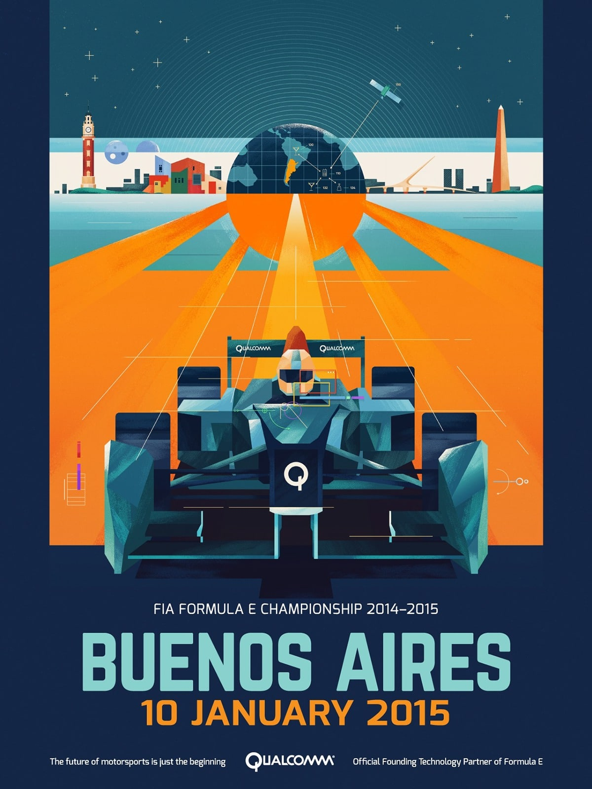 racing poster - Brilliant Poster Designs