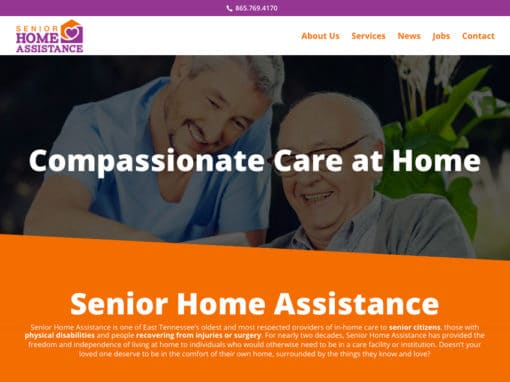 Senior Home Assistance Website Project