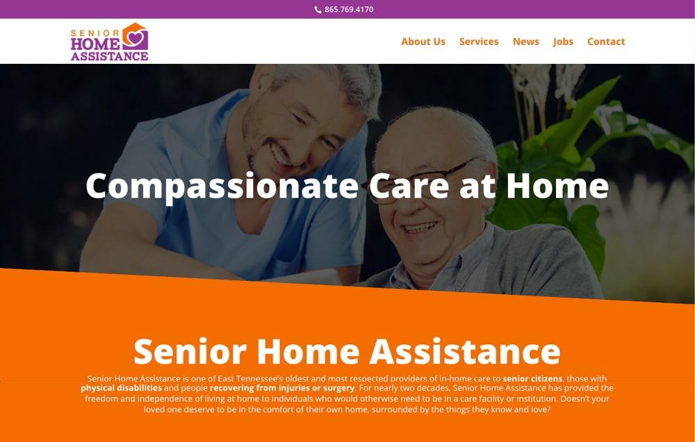 Senior Home Assistance Website Project
