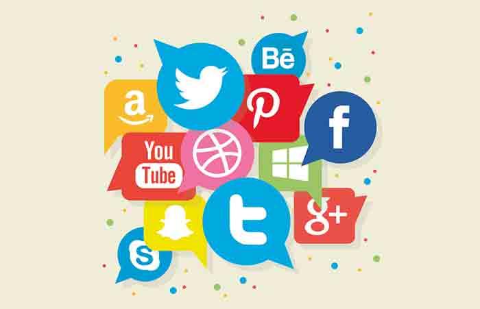 great web design - social sharing