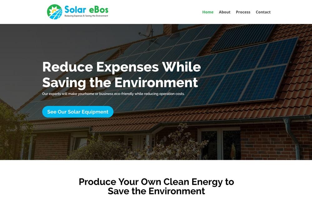 Solar eBos Website