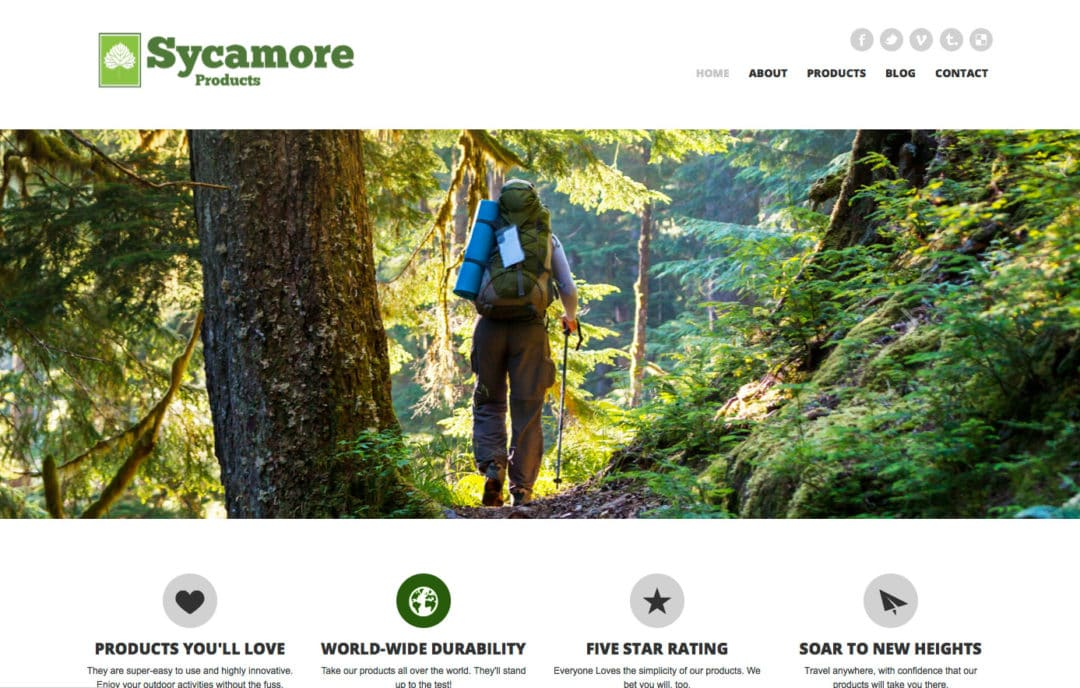 Sycamore Products Website