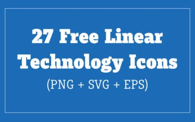 Free Vector Technology Icons (EPS + PNG + SVG)