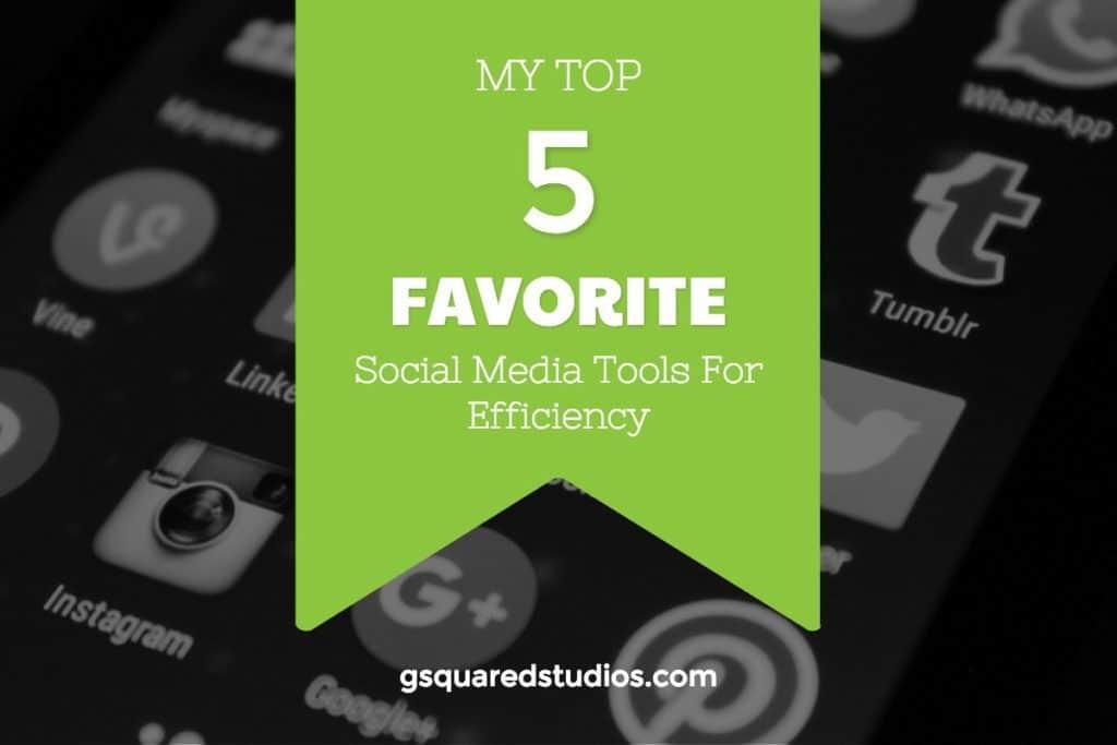 top 5 social media tools