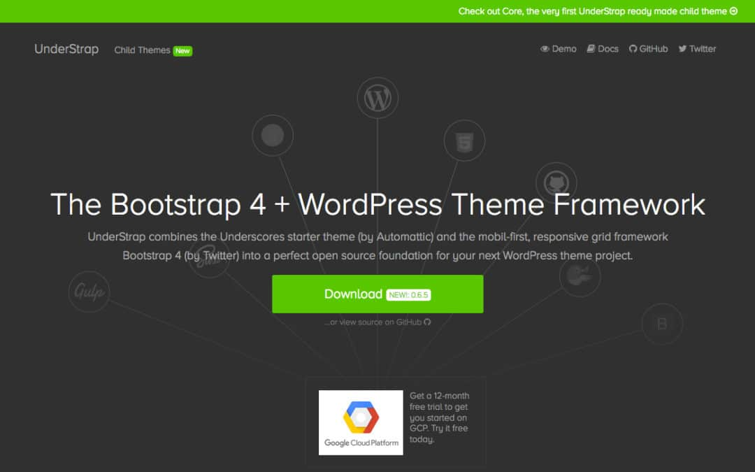 Understrap: Bootstrap 4 Meets Underscores WordPress Theme