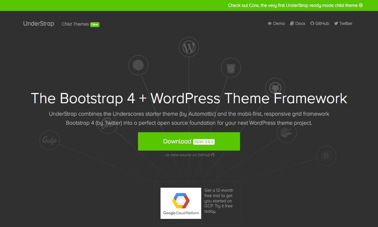 Understrap - Bootstrap WordPress Framework