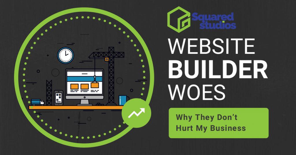 website builder woes